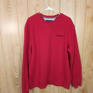 Red Tommy Hilfiger Sweatshirt